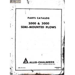Allis Chalmers Ac Parts Catalog 2000 3000 Plow Manual
