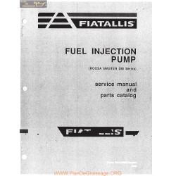 Allis Chalmers Fuel Injection Pump Roosa Master Dm Series Parts Catalog