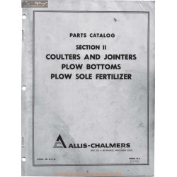 Allis Chalmers Plow Bottoms Ac Book Manual