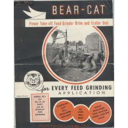 Bearcat Feed Grinder Bulletin Pt 12 52 December