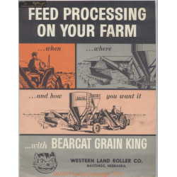 Bearcat Grain King Grinder Mixers