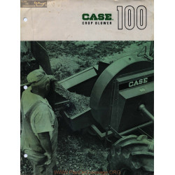 Case 100 Crop Blower Fiche Info