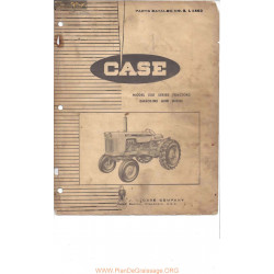 Case 530 Tractor Complete Parts Catalog