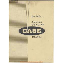 Case 900 Self Propelled Combine 927 Part Liste