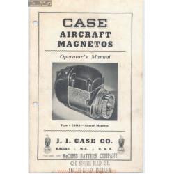 Case Aircraft Magnetos Operators Manual 5623