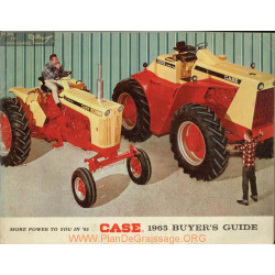 Case Buyers Guide Guide 1965