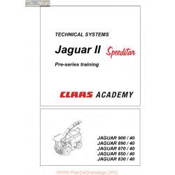 Claas Jaguar Ii Speedstar Academy 22854990 0298 768 0 Sys Sys En 144 Technical Systems