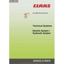 Claas Liner 3000 With Communicator 22855153 0299 936 0 Sys Hy El En 144