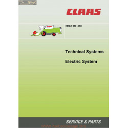 Claas Mega 360 350 22855091 0299 505 1 Sys El En 144 Technical Systems