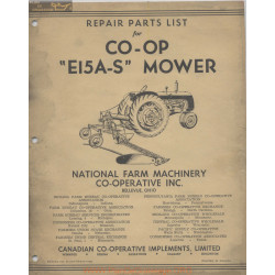 Co Op Ei5as Mower 51 469 10 51r 4100 Repair Parts List