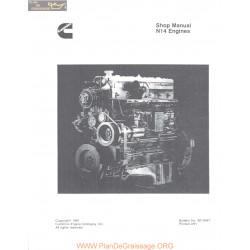 Cummins N14 Engines Manual Celect 1991