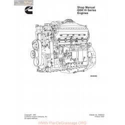 Cummins Qsk19 Engines Service Manual 1997