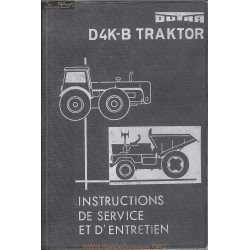 Dutra Dk4b Tractor Manuel Information