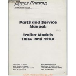 Eager Beaver Trailer Models 10ha 12ha Parts And Service Manual