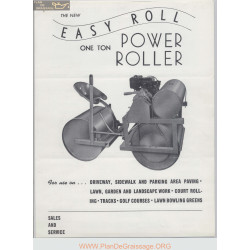 Easy Roll One Ton Power Roller