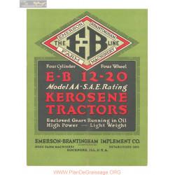 Emerson Brantingham Eb 12 20 Catalog