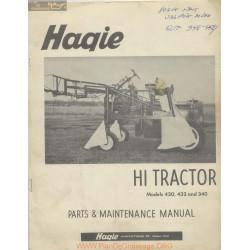 Haqie 430 432 340 Hi Tractor Models Manual