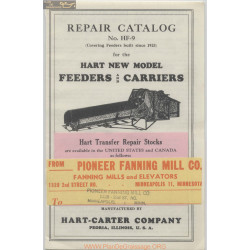 Hart Hf9 Repair Catalog 1923