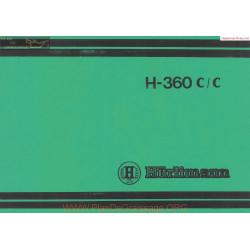 Huerlimann H 360cc Parts Sec Wat