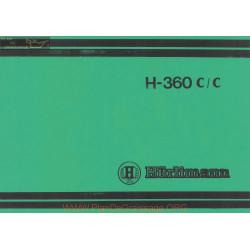 Hurlimann H 360 Cc Manual 307 8088 0 3
