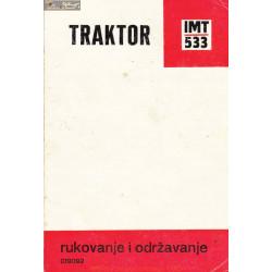 Imt 533 Traktor Rukovanje I Odrzavanje