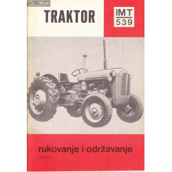 Imt 539 Traktor Rukovanje I Odrzavanje