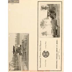 International 10 Feet 12 Feet Tractor Disk Harrow 22384120 1900 1915
