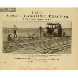 International 45 Hp Mogul Gasoline Tractor 22383840 1900 1915 Ihc