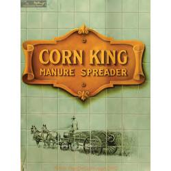 International Corn King Manure Spreader Fiche Information