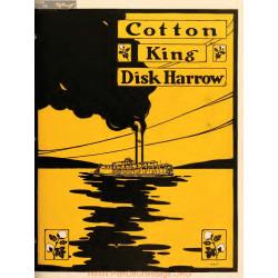 International Cotton King Disk Harrow Fiche Information