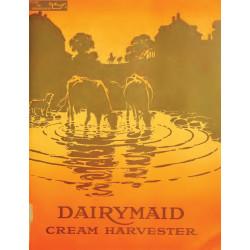 International Dairymaid Cream Harvester Fiche Information