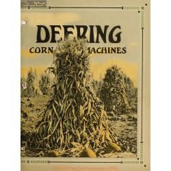 International Deering Corn Machines Fiche Information