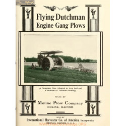 International Flying Dutchman Engine Gang Plows