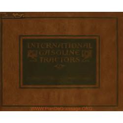 International Gasoline Tractors