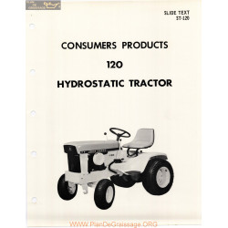 John Deere 120 Riding Mower Consumers Product
