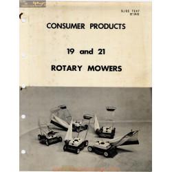 John Deere 19 21 Rotary Mower Consumer Product