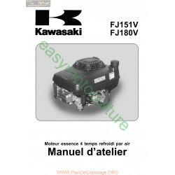 Kawasaki Fj151v Fj180v Moteur Motoculteur