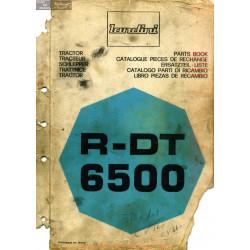 Landini R Dt 6500 Catalogue Pieces Rechange