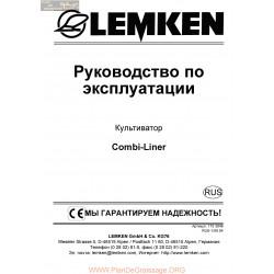 Lemken Combi Liner Rus Manual De Service 175 3849