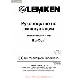 Lemken Europal Rus Manual De Service 175 1334