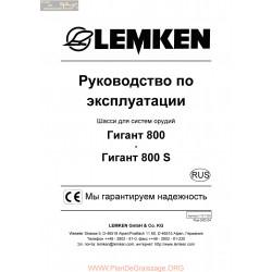 Lemken Gigant 800 S Rus Manual De Service 175 1339