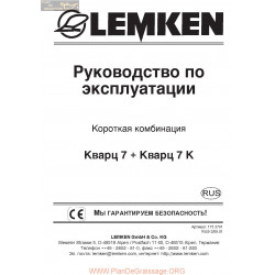 Lemken Quarz 77 K Rus Manual De Service 175 3701