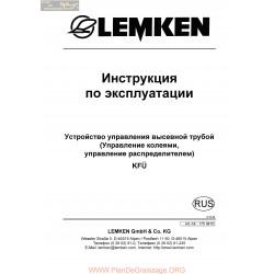 Lemken Srohrberwachung Kf Rus Manual De Service 175 3815