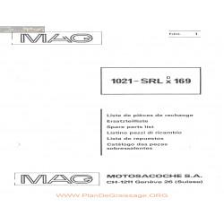 Mag 1021 Srl Liste De Pieces De Rechange