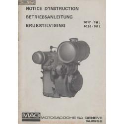 Mag 1026 1017 Srl Notice Instruction