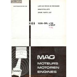 Mag 1026 Srl Liste De Pieces De Rechange