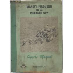 Massey Fergusen 74 Moldboard Plow 690 349 M2