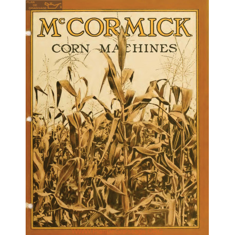 Mc Cormick Corn Machines Instructions