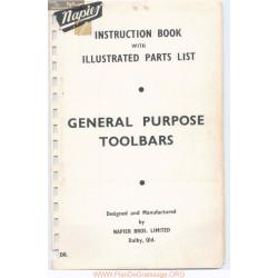 Napier As A Et As C General Purpose Toolbars Parts List