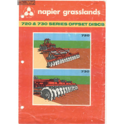 Napier Grasslands Series 720 And 730 Offset Discs
